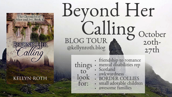 Beyond Her Calling, Blog Tour Main Graphic