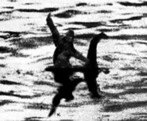 nessie and bigfoot